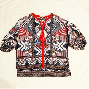 Women's Gibson Latimer Blouse Size Large